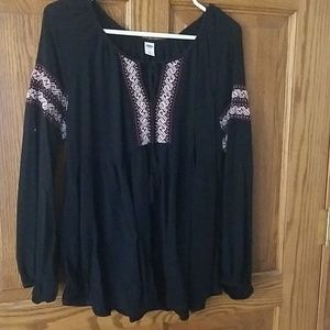 Old navy l empire waist blouse